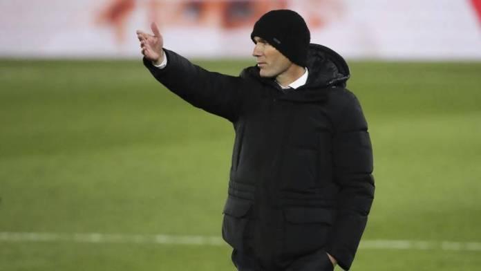 Zidane, aislado y pendiente del resultado de la PCR