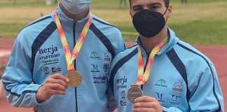 El club Nerja de Atletismo ha logrado un total de cuatro medallas en el VI Campeonato de España de Invierno de Lanzamientos Largos Menores