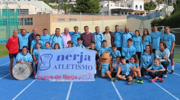 La Diputación de Málaga premia al atletismo de Nerja