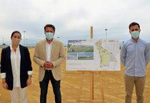 Las instalaciones establecen 15.000 metros cuadrados de zonas verdes y compagina el uso deportivo con el comercial.