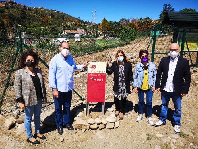 mejoras en la zona de las Tumbas Fenicias de Los Toscanos