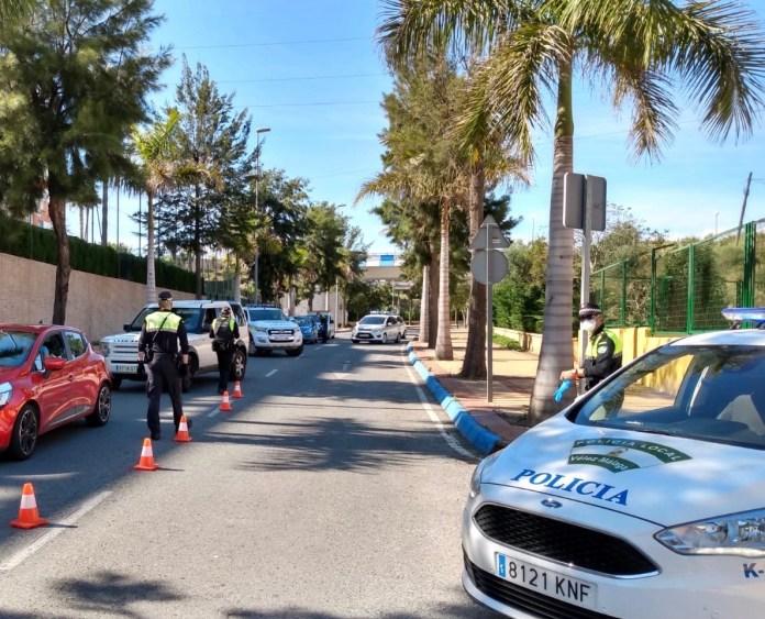 Controles de velocidad en Vélez-Málaga