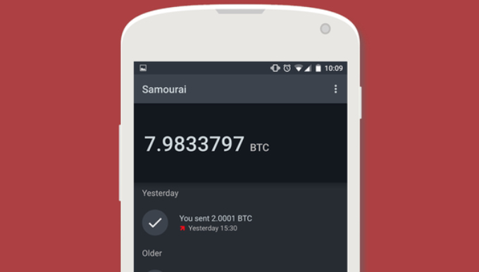 Samourai wallet googleplay