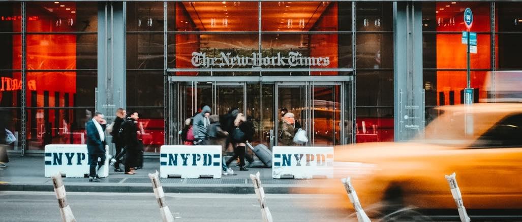 New York Times unsplash