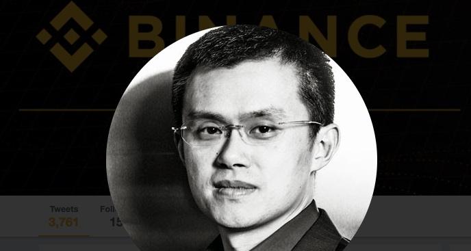 binance changpeng Zhao