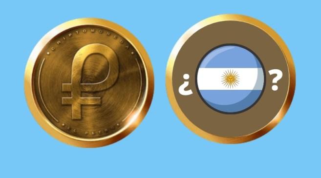Posibilidad de petro en Argentina