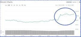 Precio Bitcoin 11 febrero