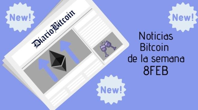 noticias sobre Bitcoin 8 de febrero