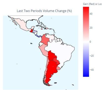 LocalBitcoins volumen de usuarios América Latina