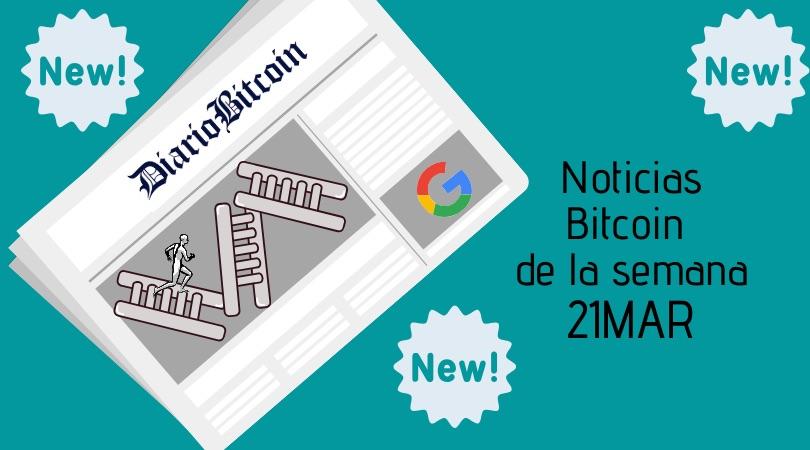 Noticias Bitcoin 21 marzo