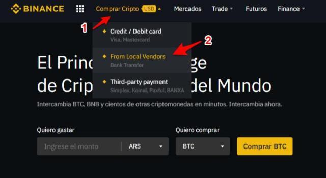 Tutorial: Aprenda cómo comprar y vender criptomonedas con bolívares (VES)  en Binance P2P - DiarioBitcoin