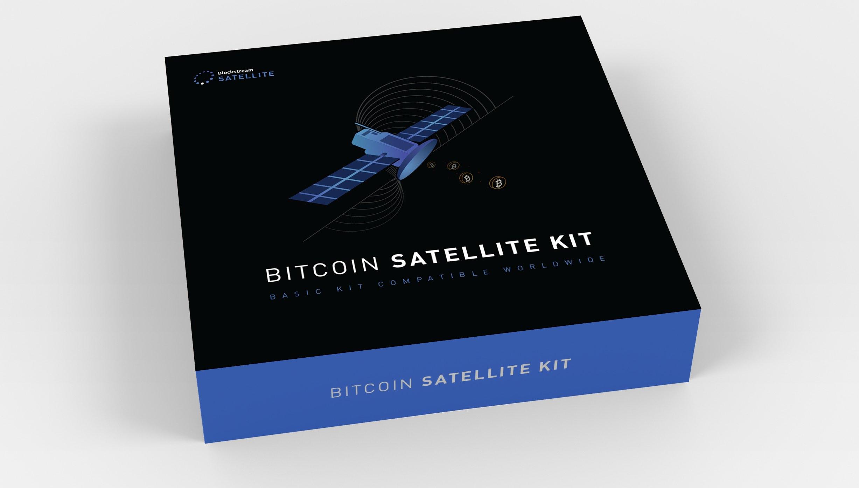 nodo satelital de Bitcoin de de Blockstream