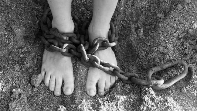 esclavo en cadenas