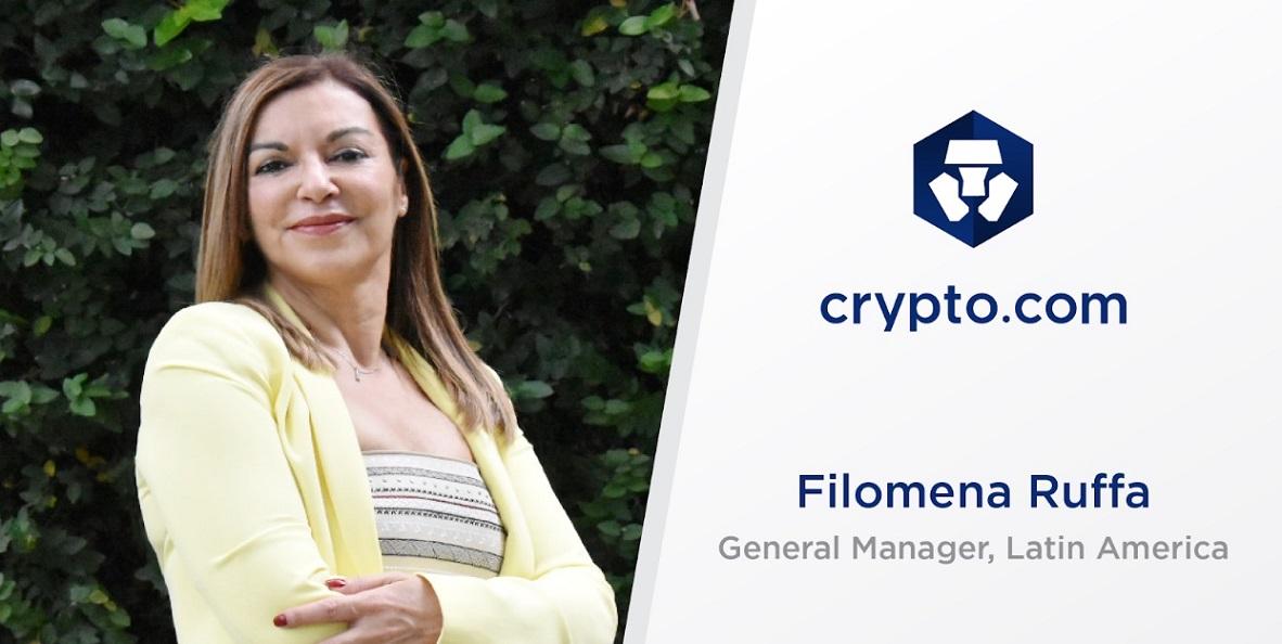 Filomena Ruffa Crypto.com