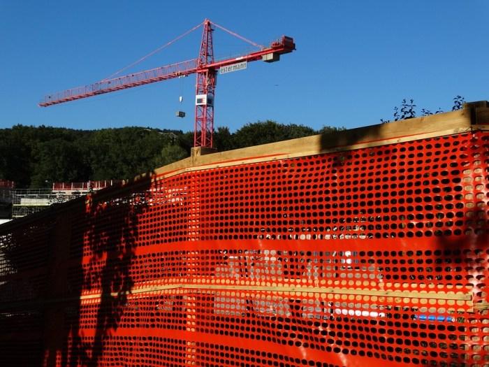 site fencing/barrier