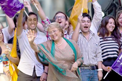 Socialistas ganan la presidencia en Chile