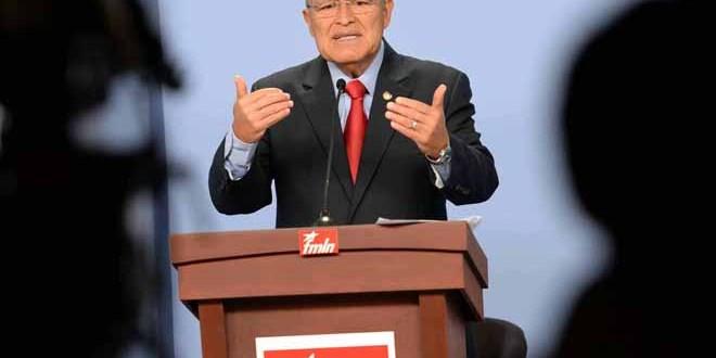Propuestas del FMLN destacan en debate presidencial