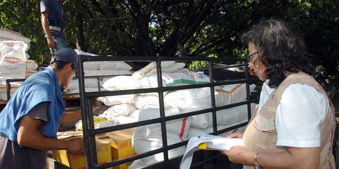 MINED inicia primera entrega de alimento escolar