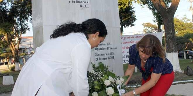 Recuerdan al apóstol de Cuba  y de América: José Martí