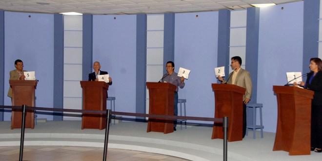 Todo listo para gran debate presidencial ASDER
