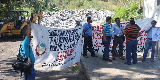 MIDES cierra relleno sanitario  de Nejapa a Alcaldía de San Salvador