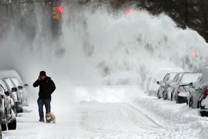 Fuerte tormenta de nieve golpea el noreste de Estados Unidos