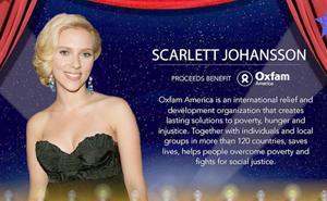 Scarlett Johansson deja Oxfam por polémica campaña publicitaria israelí