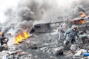 La protesta se extiende en Ucrania tras el fracaso de las negociaciones