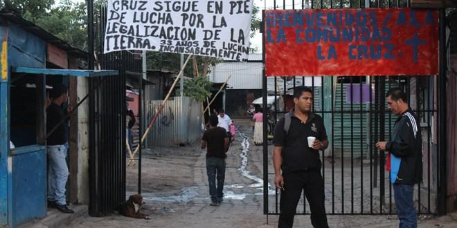 Comunidad La Cruz en disyuntiva  por el proyecto La Gran Manzana
