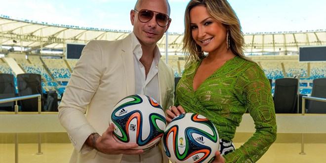 JLo, Pitbull y Claudia Leite  presentarán canción de Brasil 2014