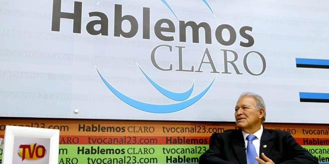 """Sánchez Cerén asegura que conformará """" un gabinete comprometido  con la honradez, la transparencia yel combate a la corrupción"""""""