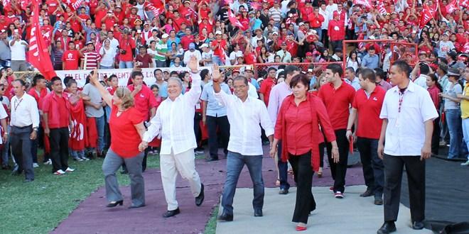 """FMLN considera que """"sigue firme  a la victoria del 9 de marzo"""""""