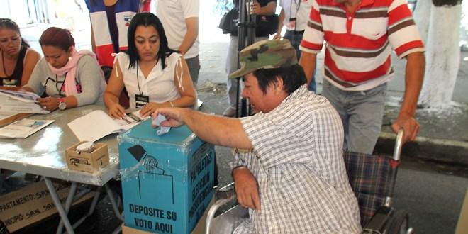 Personas con discapacidad fueron protagonistas en las elecciones