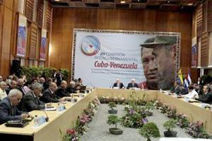 Cuba y Venezuela acuerdan 56 proyectos para atención del pueblo