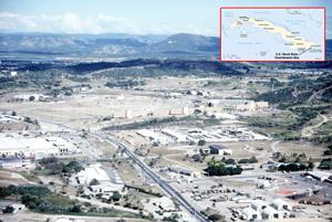 Los vecinos de la cárcel de la base de Guantánamo en Cuba