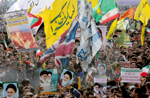 """Irán celebra su revolución y pide negociaciones """"justas"""" con Occidente"""