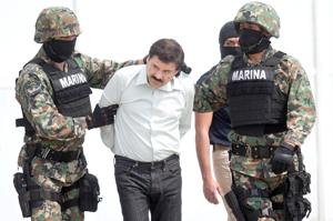 """EE.UU. busca extradición de """"El Chapo""""; revelan que drone y escuchas ayudaron a su captura"""