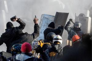 Gobierno denuncia intento de insurrección en Ucrania, la UE amenaza con sanciones