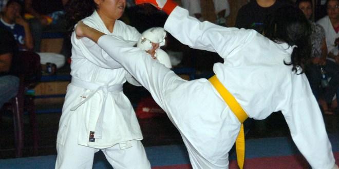 Karate contra las cuerdas  por el CCONDEKA