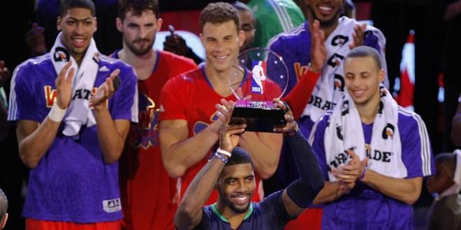 Irving lidera triunfo del Este en All-Star con récord de anotación