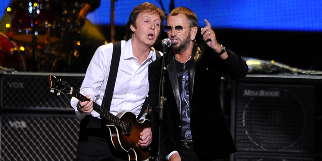 McCartney y Starr cantarán juntos en el homenaje a The Beatles