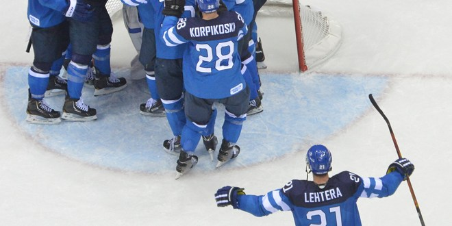 La anfitriona Rusia decepciona y cae en cuartos en hockey masculino