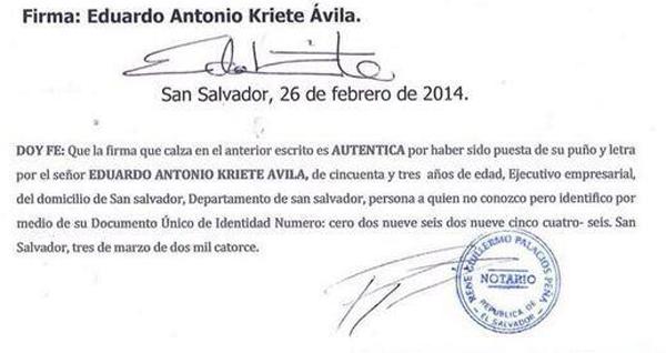 Empresario Eduardo Kriete desvincula al Presidente Funes  del accidente del vehículo marca Ferrari