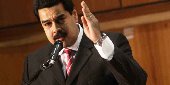 Nicolás Maduro Felicita a Salvador  Sánchez Cerén
