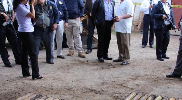 FGR acusa a mayor de mover y resguardar granadas ubicadas en El Congo