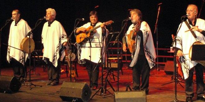 Quinteto Tiempo en El Salvador  le canta a la Patria Grande