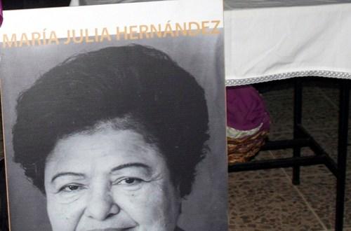 Feligreses conmemoran 7º  aniversario del fallecimiento de María Julia Hernández