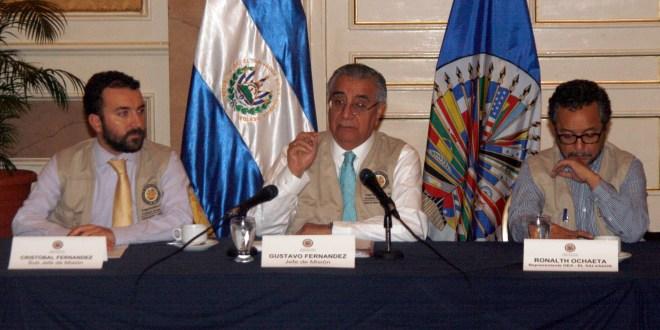 OEA pide tranquilidad a los partidos políticos