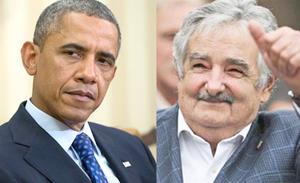Obama recibe en la Casa Blanca a presidente uruguayo José Mujica