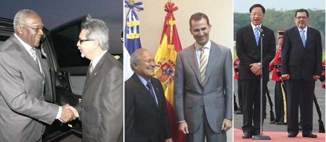 Jefes de Estado y misiones de Gobierno arriban  al país para participar en traspaso presidencial